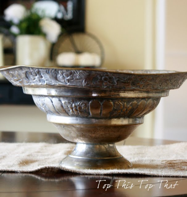 True story how two silver bowls became one elegant interiors decor accents for Garden ridge pottery houston tx