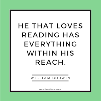 He that loves reading has everything within his reach.