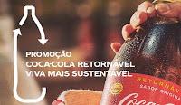 Promoção Coca-Cola Retornável: Viva mais sustentável!
