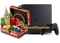 Logo Fréson de Palos e Peter Rabbit : gioca e vola a Londra e vinci console PlayStation 4