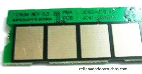 Reseteo De Samsung Scx 4300 Es Rellenado
