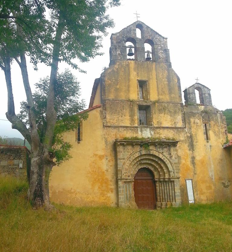 Wikiloc - ruta Monasterio de Santa María la Real de Obona. Anthercas ...