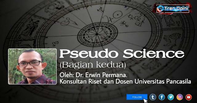Dr. Erwin Permana. Konsultan Riset dan Dosen Universitas Pancasila