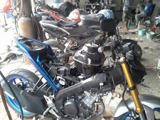 Tabung bensin Yamaha Xabre