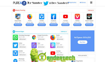Download Pure APK Blogger Template(FREE)