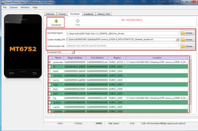 Cara Bypass Google Account Verification Lenovo A7000 Dengan Flashtool