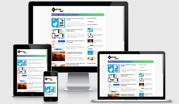 Have Infinite Blog Template Redesign Responsive And Also Seo ...