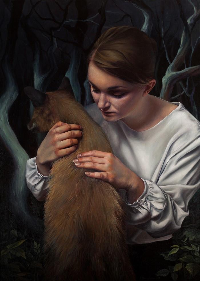 Всего лишь тонкий слой краски. Agnieszka Nienartowicz