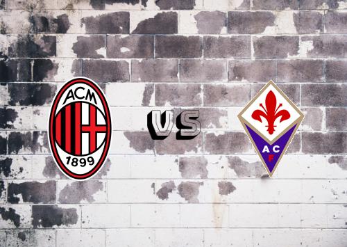 Milan vs Fiorentina  Resumen y Partido Completo