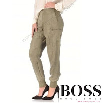 Queen Letizia Style HUGO BOSS Pants
