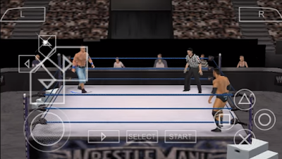 Download WWE Smackdown VS Raw 2010 for Android PPSSPP ISO High Compress Terbaru Gratis
