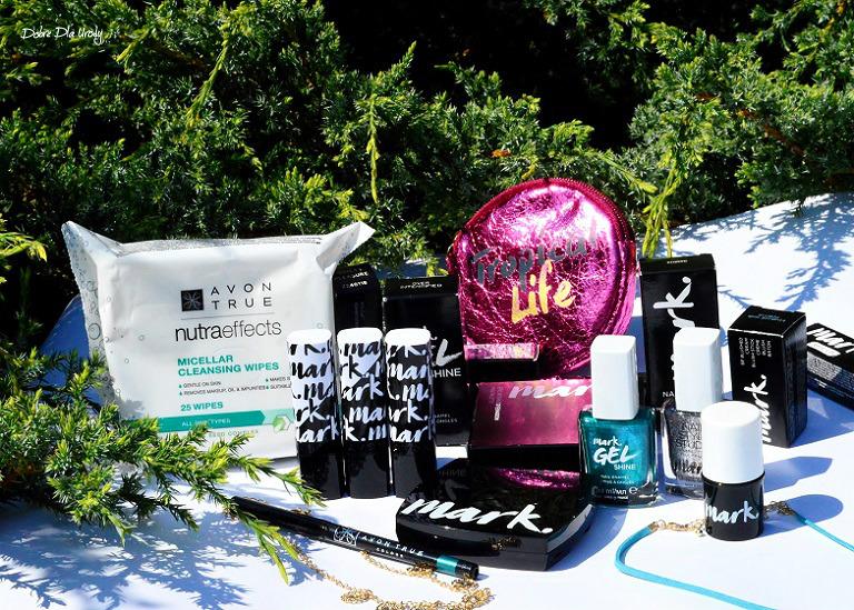 Kolorowe, makijażowe NOWOŚCI Avon oraz KONKURS!!! Zgarnij zestaw kosmetyków do makijażu i manicure ;)