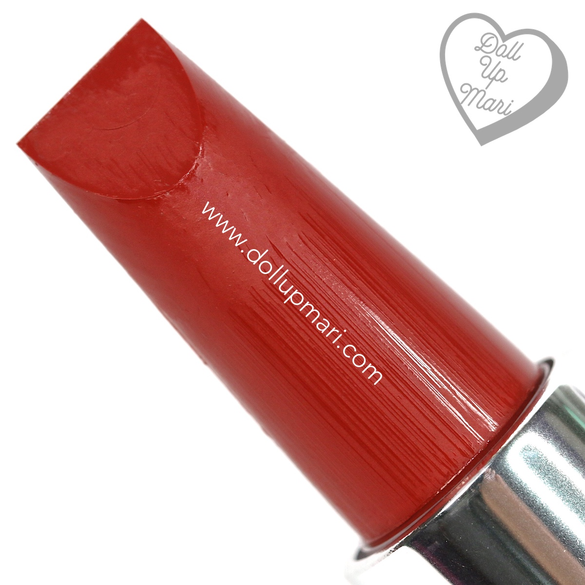 Zoom of Red Side of BLK Cosmetics K-Beauty K-Drama All-Day Intense Matte Lipstick in the shade of Dandelion