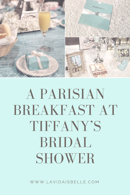 Bridal Shower: A Parisian Breakfast at Tiffany's