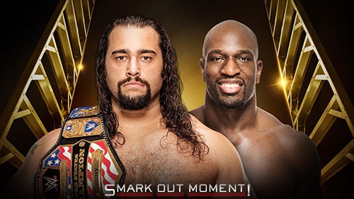 WWE Money in the Bank 2016 Titus O'Neil vs Rusev US Title Match