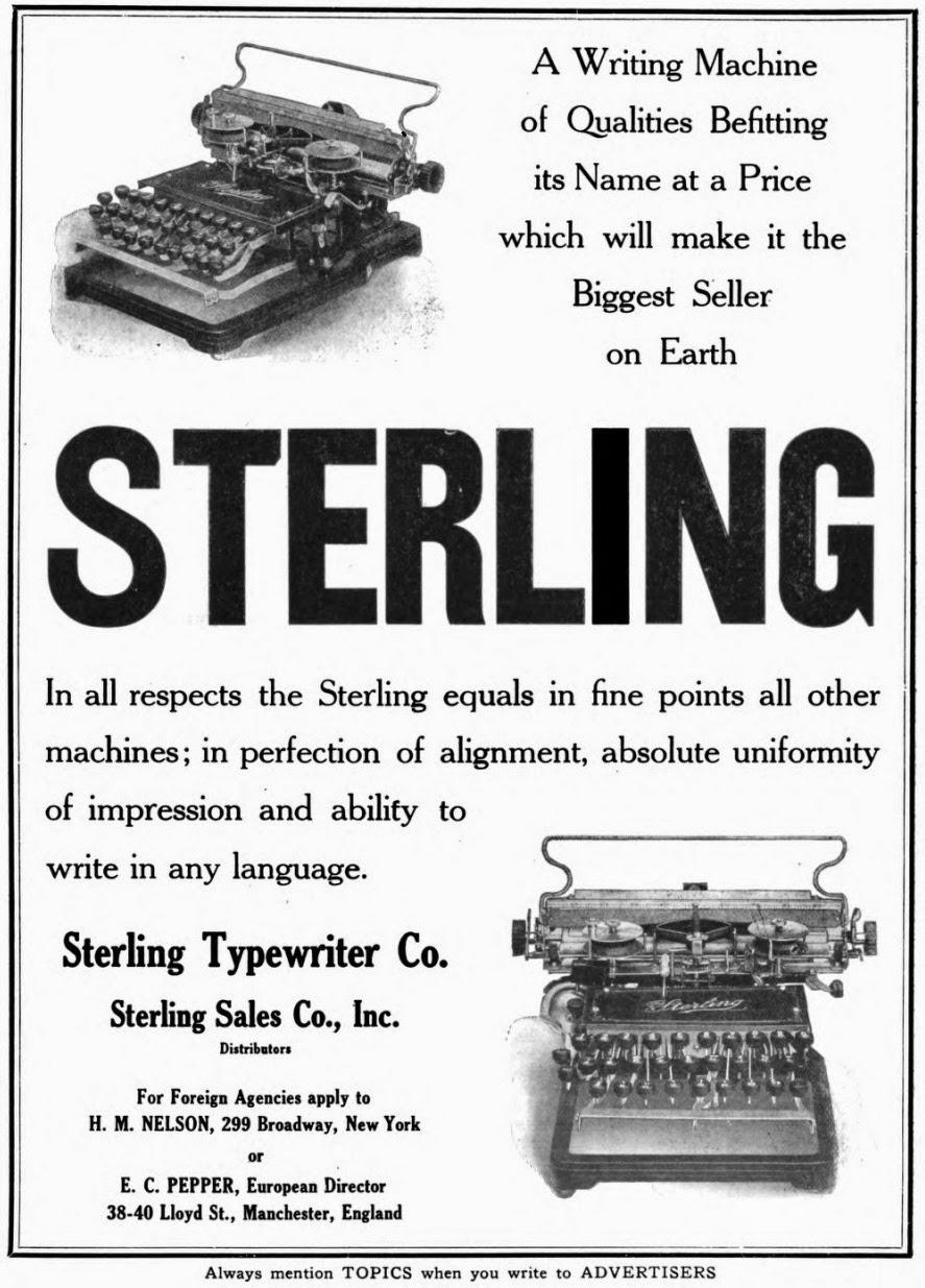 oz.Typewriter: The Sterling Typewriter: