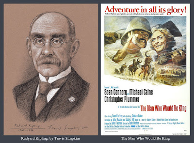 Rudyard Kipling. Author and Freemason. The Man Who Would Be King. by Travis Simpkins