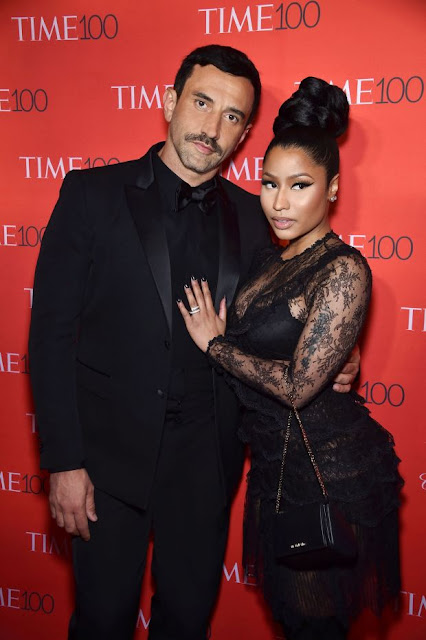 Riccardo Tisci and Nicki Minaj. Photo: Givenchy