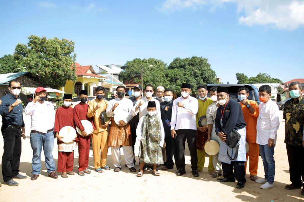 Amsakar Hadiri Sunataan Massal dan Silaturahmi dalam menyambut Bulan Suci Ramadhan 1442 H
