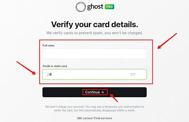 Step by step guide to build a blog with Ghost website