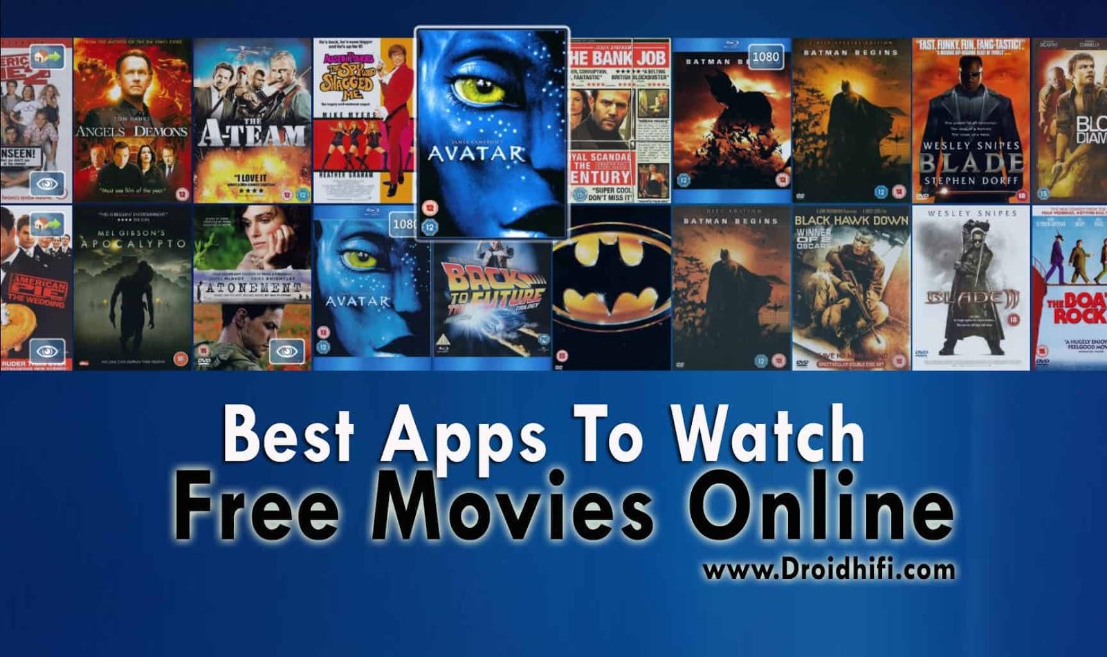 Best Apps To Watch Free Movies Online - Updated 2019