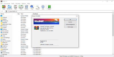 Download WinRAR Versi 5.90 Beta 1 Final Terbaru Full Version Crack Patch 32 64 Bit Gratis