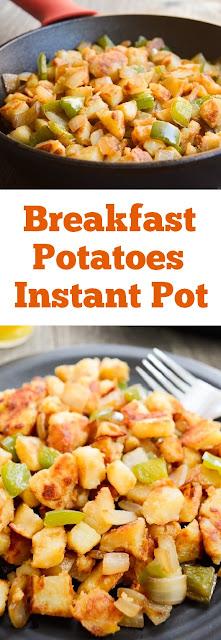 Breakfast Potatoes Instant Pot #breakfastpotatoes #instantpot #breakfast #easybreakfast #maindish