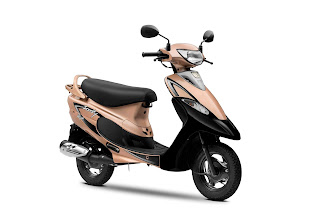Celebrating 25 Years of TVS Scooty -TVS Motor Company introduces 2 new colours_ TVS Scooty 25 years