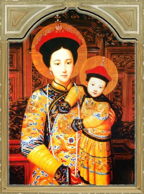 Nossa Senhora imperatriz da China, Auxílio dos Cristãos