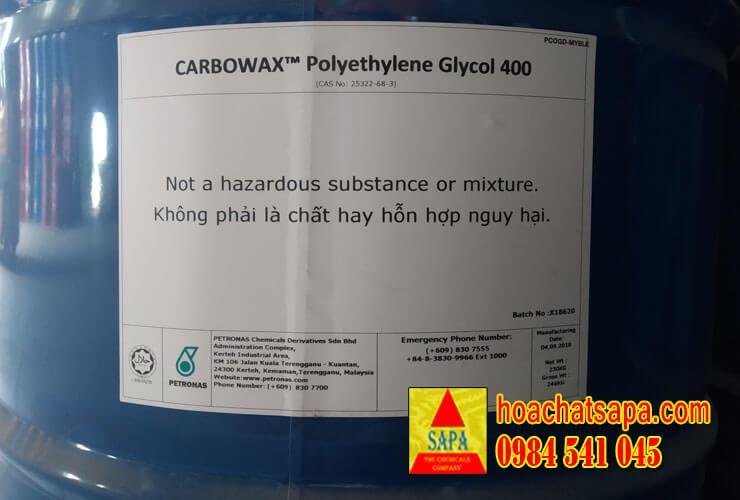 Các mặt hàng hóa chất nhập khẩu trực tiếp từ Petronas Malaysia