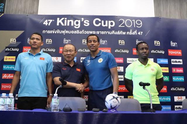 Chung kết King's Cup, Việt Nam - Curacao: Đối thủ e ngại thầy trò Park Hang Seo 2