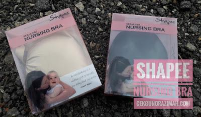 nursing bra shapee, bra menyusu murah, nursing bra murah, nursing bra terbaik
