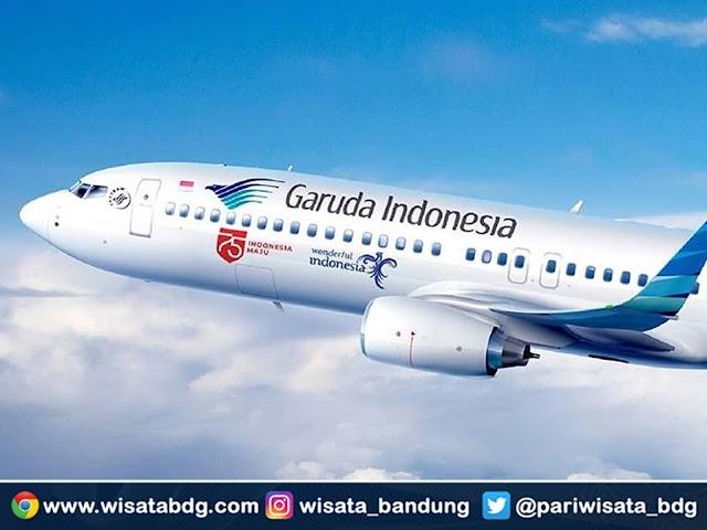 Jadwal dan Harga Tiket Penerbangan Garuda Indonesia dari Bandara Husein Sastranegara ke Medan dan Denpasar