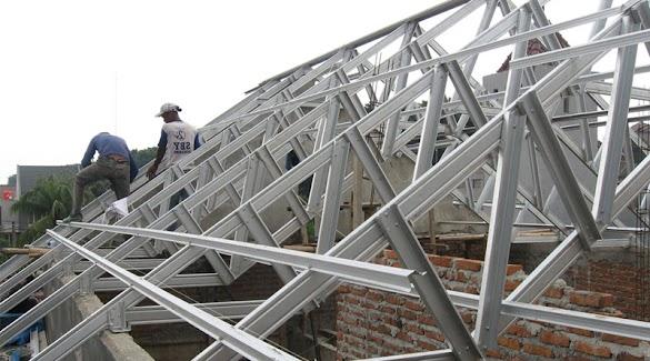 Cara Menghitung Kebutuhan Baja Ringan Untuk Atap Rumah Anda