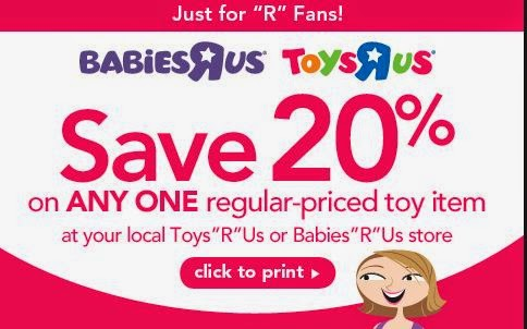 picture regarding Printable Toys R Us Coupon named Toys R Us Printable Discount coupons Might 2018