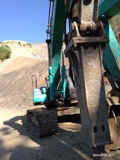 Dijual Excavator Kobelco SK330-8 Tahun 2017