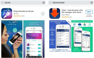 Cara Download Rekaman Video Dan Lagu Smule Sing! Karaoke di iPhone Smartphone
