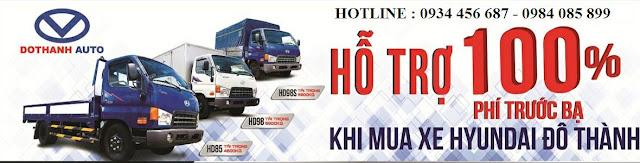 Bán xe tải Hyundai tại Quảng Bình