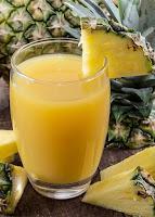 Jus buah nanas untuk mengecilkan perut