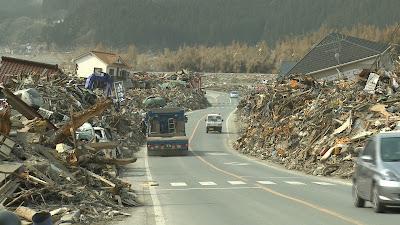 Japão após o tsunami - Divulgação