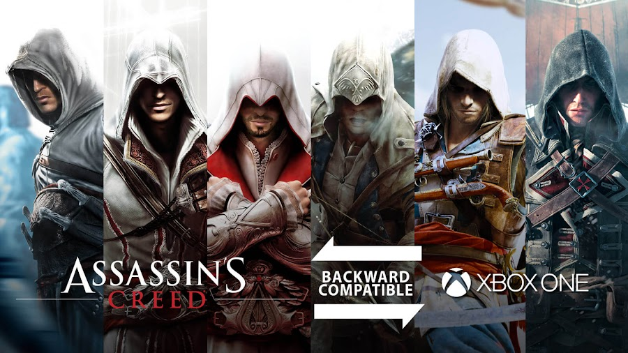 assassins creed games backwards compatible xbox one