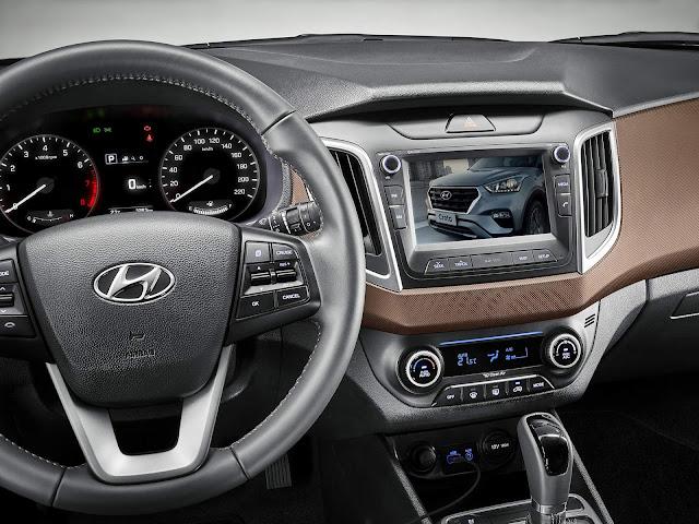Hyundai Creta Prestige 2019 - interior