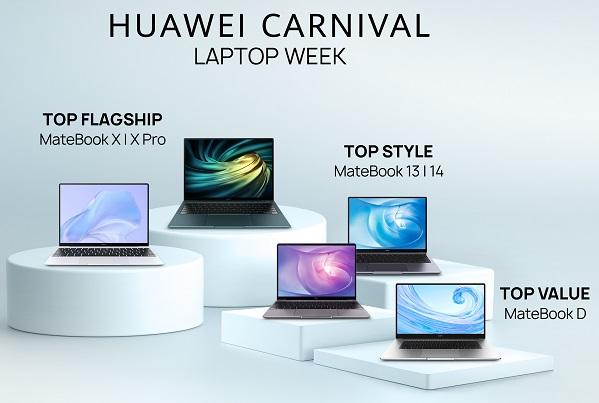 Huawei Carnival Laptop Week