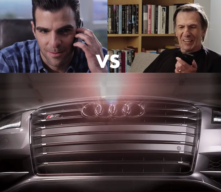 Spock vs. Spock for Audi