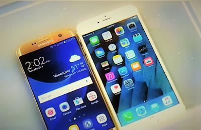 مقارنة بين هاتف سامسونج S7 وايفون 6S ايهما اقوى تحت الماء