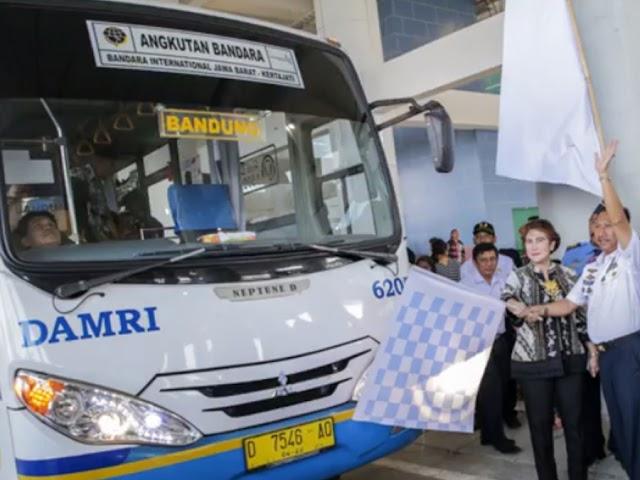 Jadwal Bus DAMRI dari Pool Kebon Kawung ke Bandara BIJB Kertajati