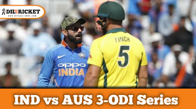 India vs Australia ODI series 2020