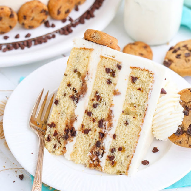 Milk and Cookies Layer Cake