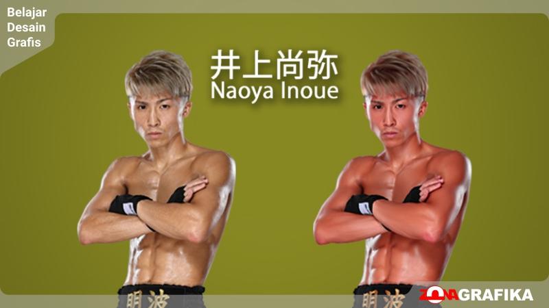 井上尚弥 Naoya Inoue Smudge Art