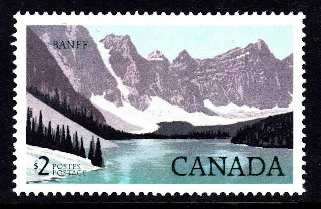 Canada No 936, National Park Banff National Park